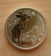 2011 AUSTRALIA BUSH BABIES KANGAROO  $1 UNC MINT COIN-NOT ISSUED FOR CIRCULATION