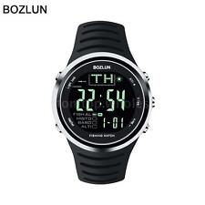 BOZLUN 5ATM Altimeter Barometer Sport Watch Temperature Forecast Fishing Z0S3