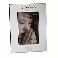 My Confirmation photo frame with dove FA517CON