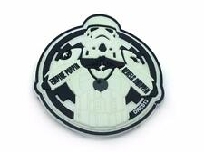 Empire Poppin Rebels Droppin Stormtrooper White Glow InThe Dark PVC Patch