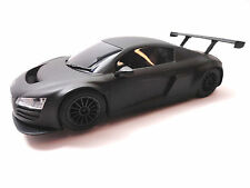 Scalextric Matt Black Audi R8 1/32 Scale Slot Car C3663
