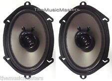"Pair 5x7"" or 6x8"" inch Car Stereo Audio SPEAKERS Factory OEM Style Replacements"