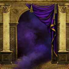 Arch And Pillars 10'x10' CP Backdrop Computer printed Scenic Background XLX-071