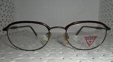 GUESS GU 558 ABR 50/19-135 Vintage 80's Glasses Made in Hong Kong (C2)@