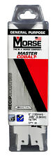 "MORSE Master Cobalt Reciprocating Saw Blade 6""x3/4"" 14TPI RB614T50 (50 pack)"