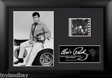 Film Cell Genuine 35mm Framed & Matted Elvis Presley S33 Race Car USFC5704