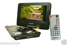 "BRANDED ""VICTOR"" 7.8"" 3D PORTABLE LAPTOP EVD/DVD PLAYER/LED TV TUNER/USB & MORE"