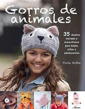 Gorros de Animales : 35 Diseños Salvajes y Maravillosos para Bebés, niños y...