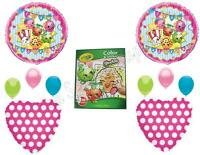 SHOPKINS & CRAYOLA Birthday Girl Balloons Decoration Supplies Party Cookie Sweet