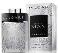 Man Extreme Intense by Bvlgari for Men 100ml / 3.4oz Eau de Parfum NEW Bulgari