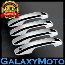 15-16 Chevy Suburban+Tahoe Triple Chrome 4 Door Handle w/o Smart Hole Cover 2016