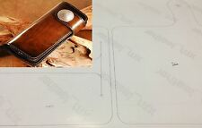 Leather craft Patterns DIY Designs Long Wallet Paper Template Drawing Tools 8002