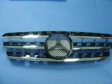 Front Grille (BLACK) Assembly For 1996-2005 Mercedes Benz W163 M-Class ML