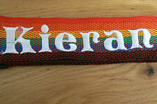 personalised luggage / suitcase straps . twin strap -  special offer this week