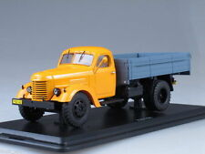 ZIS-150 4x2 Flatbed Truck Orange Blue USSR 1953 Start Scale Models 1:43 SSM1026