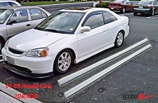 2001-2005 Honda Civic OE Factory Style Optional Side Skirts 2DR 4DR USA CAN