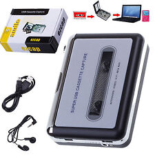 Lecteur Walkman USB Tape Convertisseur Cassette en MP3 Audio Stereo Music Player