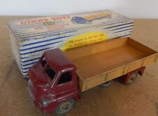 Dinky 522 /922 Big Bedford Flatbed truck  maroon and cream red colour spot box