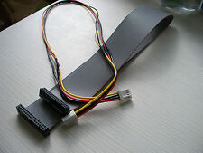 Floppy 34 Pin Datos + Power Cable Kit 50 Cm Para Amiga Gotek