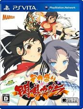 Used PS Vita  Senran Kagura Bon Appetit! Japanese version Free Sipping