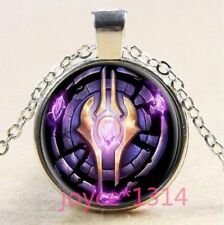 World of Warcraft Hearthstone Glass Dome Pendant silver Necklace  c19