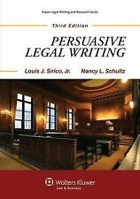 Persuasive Legal Writing 3rd Edition (Aspen Coursebook Series), Nancy Schultz, A
