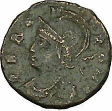 Constantine I the Great ROME CITY COMMEMORATIVE Ancient Roman Coin RARE  i40054