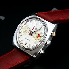 Nivada-Grenchen Taravana Vintage Diver Chronograph Watch Valjoux Cal. 7734 Mint!