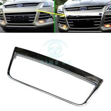 Front Bumper Grille Decorative trim ABS Chromed for Ford Escape/Kuga 2013-2016