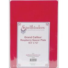 "SPELLBINDERS 8.5"" X 12"" RASPBERRY SPACER PLATE FOR GRAND CALIBUR DIE CUT MACHINE"
