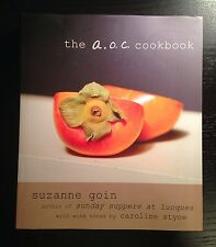 The A. O. C. Cookbook by Suzanne Goin (2013, Hardcover) 1st EDITION!