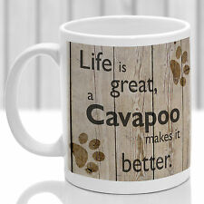 Cavapoo dog mug, Cavapoo gift, ideal present for dog lover