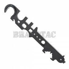 5.56/308 Multi-Tool Combo Wrench - Muzzle Brake, Buffer Tube, Barrel Nut, Stock