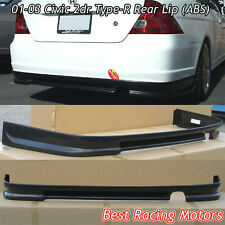 01-03 Civic 2dr Type-R Style Rear Bumper Lip (ABS)