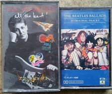 ★BEATLES 2 lots of cassettes, 1 double, good condition, going cheap ★