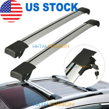 2x Prorack Whispbar S46 ROOF RACK Cross Bar For Lexus RX450h Hyundai Santa Fe
