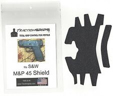 Tractiongrips rubber grip overlay decal for S&W M&P 45 Shield / M&P45 Shield