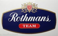 Aufkleber ROTHMANS TEAM Honda NSR Porsche Opel Motorsport 80er Jahre Sticker