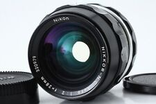 """""""Exc++"""" Nikon Nikkor-N C Auto 28mm f/2 Non Ai Wide Angle MF Lens From Japan"""
