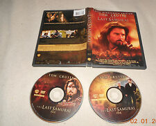 DVD The Last Samurai Tom Cruise  englisch 2 Disc Widescreen O2 16