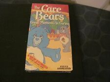 BRAND NEW Care Bears 1980s VINTAGE VHS Great Moments in Sharing SEALED