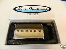 KENT ARMSTRONG CONVERTIBLE WPU900C P90 HUMBUCKER RETROFIT CHROME METAL COVER