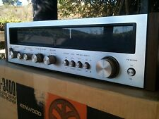 VINTAGE KENWOOD KR-3400 RECEIVER LOOKS AND WORKS GREAT IN BEAUTIFUL CONDITION!