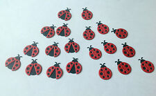 Ladybird Die Cut Shapes - Pack of 20 ideal for cards, scrapbooks, craft making