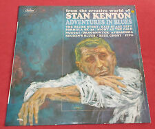 STAN KENTON LP ORIG FR 60'S  ADVENTURES IN BLUES