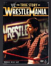 The WWE: The True Story of WrestleMania (DVD, 2011, 3-Disc Set)