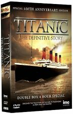 Titanic - The Definitive Story - Special 100th Anniversary Edition 2 [DVD] NEU