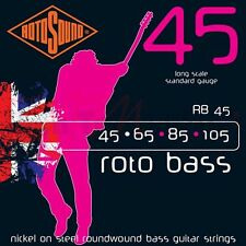 Rotosound RB45 ROTO NICKEL ON STEEL BASS STRINGS 45-105