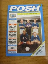 21/04/1992 Peterborough United v Swansea City  . Thanks for taking the time to v
