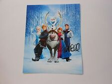 "Kristen Bell Idina Menzel SIGNED ""Let it Go"" AUTOGRAPHED 8x10 Photo"